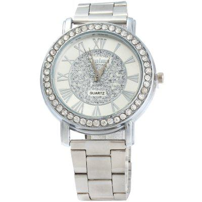 Kanima Diamond Bezel Quartz Watch with Stainless Steel Band for MenMens Watches<br>Kanima Diamond Bezel Quartz Watch with Stainless Steel Band for Men<br><br>Available Color: Silver<br>Band material: Stainless Steel<br>Brand: Kanima<br>Case material: Stainless Steel<br>Clasp type: Folding clasp with safety<br>Display type: Analog<br>Movement type: Quartz watch<br>Package Contents: 1 x Kanima Quartz Watch<br>Package size (L x W x H): 21 x 5 x 1.9 cm / 8.25 x 1.97 x 0.75 inches<br>Package weight: 0.122 kg<br>Product size (L x W x H): 20 x 4 x 0.9 cm / 7.86 x 1.57 x 0.35 inches<br>Product weight: 0.072 kg<br>Shape of the dial: Round<br>Style elements: Stainless Steel<br>The band width: 1.8 cm / 0.71inches<br>The dial diameter: 4.0 cm / 1.57 inches<br>The dial thickness: 0.9 cm / 0.35 inches<br>Watch style: Fashion<br>Watches categories: Male table