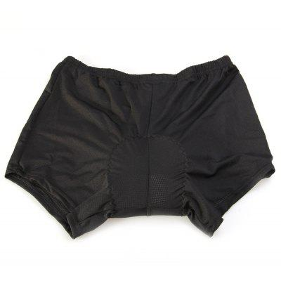 NUCKILY Foam Silicone Pad Knicker Cycling Shorts
