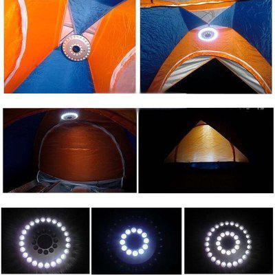 500LM 36 LED 3 Modes Sun Tent Lamp