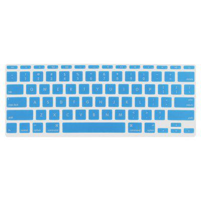 Buy LIGHT BLUE ENKAY Ultrathin Water-proof Silicone Material Protective Keyboard Film for MacBook Air 11.6 inch for $2.66 in GearBest store