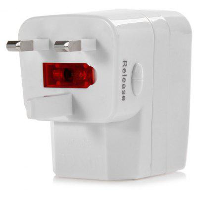 Protable 3 in 1 EK US EU Plug Power Adapter for iPhone 8