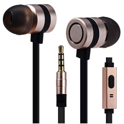 SHENGER G380 3.5mm Srereo Gold Plated Plug Earphone