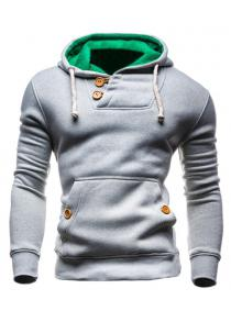 IZZUMI Hooded Long Sleeves Hoodie For Men