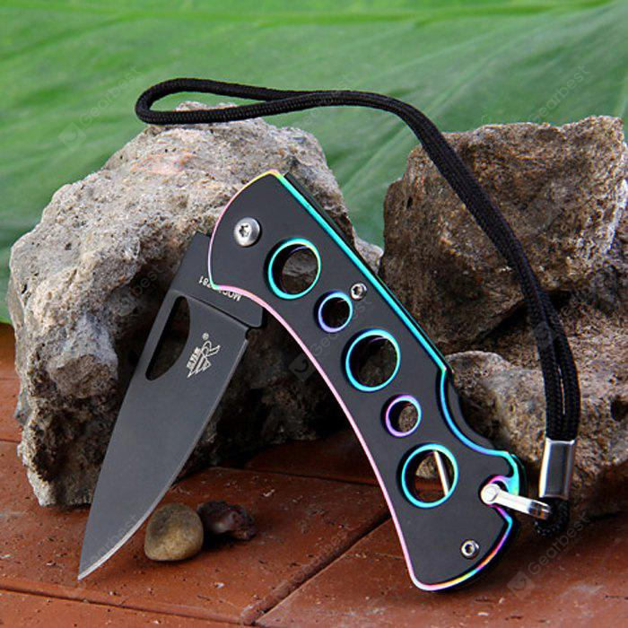 Sanrenmu B4-781 Stylish Pocket Knife with Back Lock