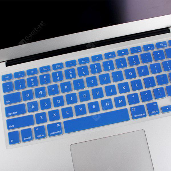 ENKAY Ultrathin Water-proof Silicone Protective Keyboard Sticker for MacBook Air 13.3 inch and MacBook Pro with Retina Display 13.3 / 15.4 inch DEEP BLUE