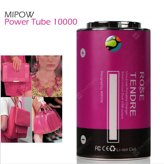 MIPOW Power Tube 10000 8000mAh Mobile Power Bank