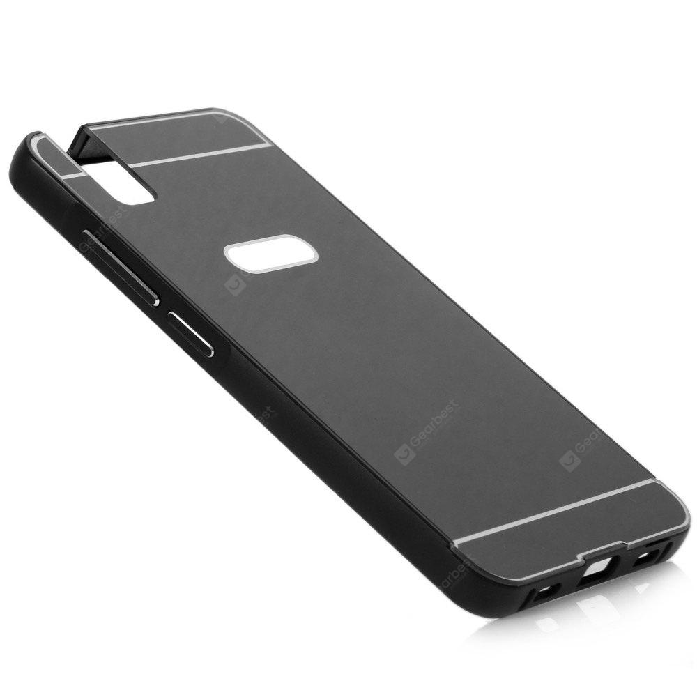 Thin PC Phone Cover Case with Mental Frame for HUAWEI Honor 7i