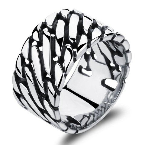 Characteristic Stainless Steel Punk Style Ring For Men