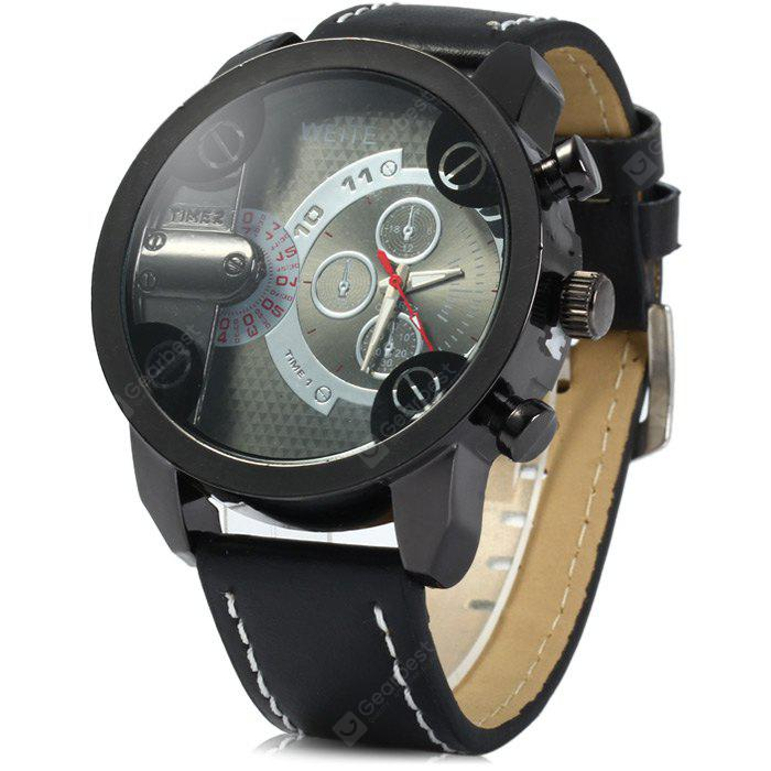 date product genuine calendar watches quartz watch automatic business fashion casual brand luxury men weite leather