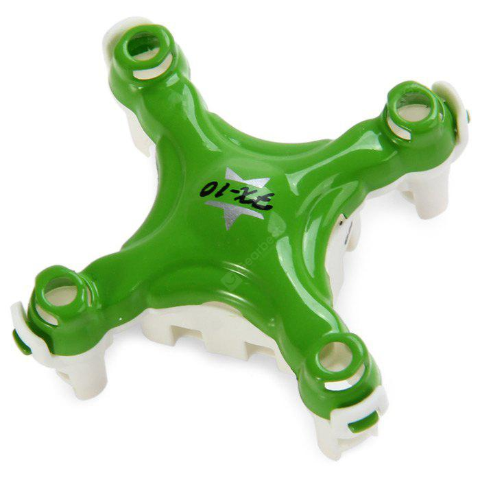 Extra Spare Upper + Lower Body Cover Fitting Floureon FX - 10 Remote Control Quadcopter GREEN