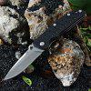 Enlan Em - 01 Liner Lock Foldable Knife - BLACK