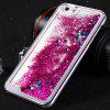 PC Protective Back Cover Case Heart Shaped Sequins Design for iPhone 6 - 5.5inch - PURPLE