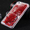 PC Protective Back Cover Case Heart Shaped Sequins Design for iPhone 6 - 5.5inch - RED