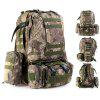 60L Tactical Combination Type Backpack - GREEN PYTHON PATTERN