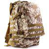 Outdoor 45L 3D Tactical Backpack with Molle System - MARPAT DESERT