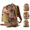 Outdoor 45L 3D Tactical Backpack with Molle System - THREE SAND CAMOUFLAGE