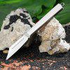 Sanrenmu A169 Portable Foldable Knife for Outdoor Camping - SILVER