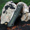 Sanrenmu 9051 MUC-GPH Stainless Steel Blade Folding Knife - GREEN