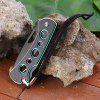 Sanrenmu B4-781 Stylish Pocket Knife with Back Lock - AS THE PICTURE