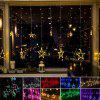 2M 138 LED Star Curtain Lights - COLORFUL