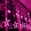 2M 138 LED Star Curtain Lights - PINK