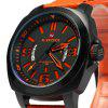 Naviforce NF9062M Men Japan Quartz Watch - ORANGE
