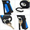 Rechargeable COB LED Flashlight - BLACK