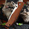 Enlan L05 - 1 Folding Knife with Liner Lock - COFFEE
