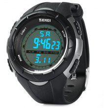 Skmei 1074 Multi - function LED Military Army Watch 50M Water Resistant for Sports