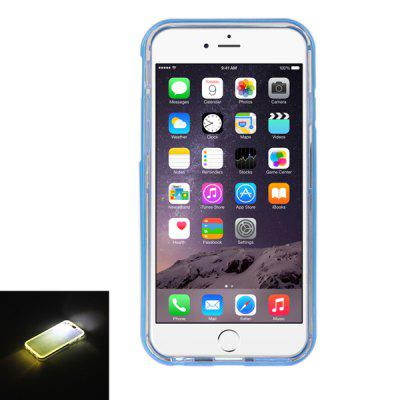 ENKAY Back Cover Case Protector Screen Film 2 in 1 for iPhone 6 Plus with Incoming Call Flash HD Anti-glare