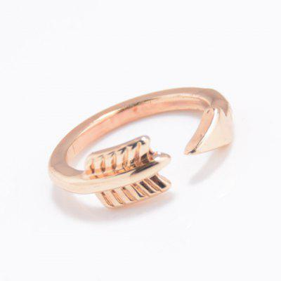 Alloy Arrow Cuff Ring