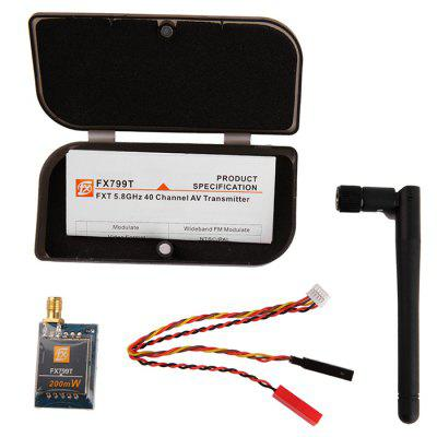 FX799T 40CH 5.8G 200mW FPV AV 2000m Range Transmitter Set for DIY Project