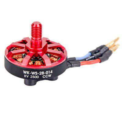 Spare 2500KV Brushless CCW Motor for Walkera Runner 250 Advance RC Quadcopter WK - WS - 28 - 014