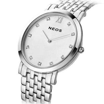 NEOS N30852M Sapphire Mirror Men Japan Quartz Watch