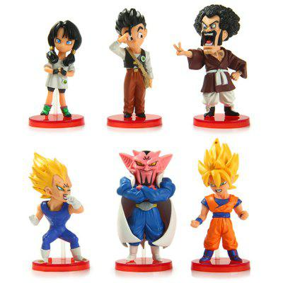 Dragon Ball Model Toy 6Pcs