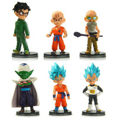 Dragon Ball Model 6Pcs