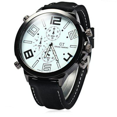 GT Male Japan Quartz Watch with Rubber Band