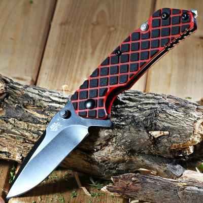 Sanrenmu 7056 LUI-GLH-T4 Liner Lock Folding Knife