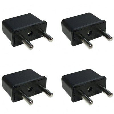 US to EU Plug Socket Power Adapter - 4PCS