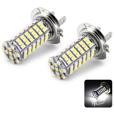 2pcs H7 3528 102SMD Car LED Foglight