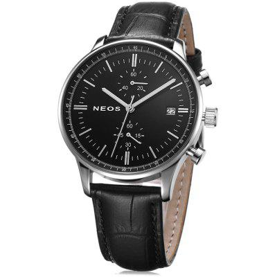 NEOS N50551M Date Display Men Japan Quartz Watch