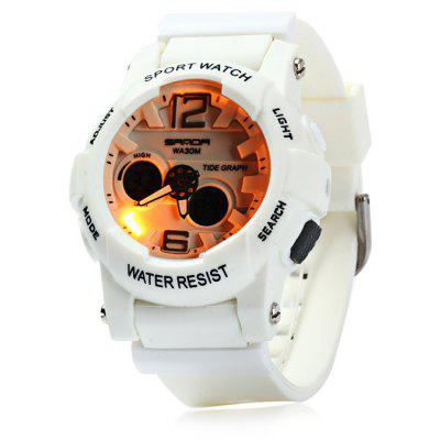 Sanda 718 Male LED Sports Watch