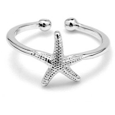 Trendy Starfish Cuff Ring For Women