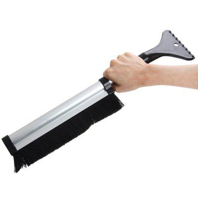 2 in 1 Aluminum Snow Brush / Ice Scraper