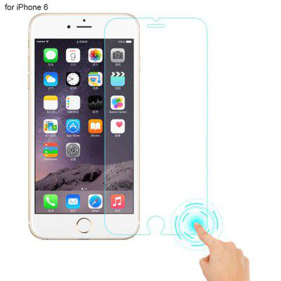 Angibabe Tempered Glass Screen Protector for iPhone 6 Smart Touch Return Key 9H 0.3mm 2.5D Arc
