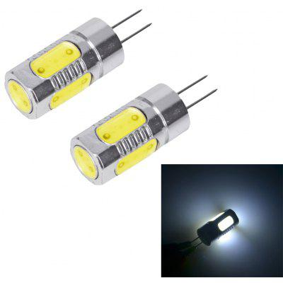 2 x 5W G4 170Lm COB LED Corn Lamp ( DC 12V )