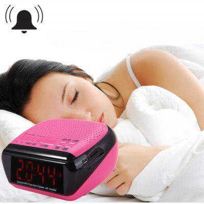 MX - 018 Alarm Clock Bluetooth V2.1 Speaker