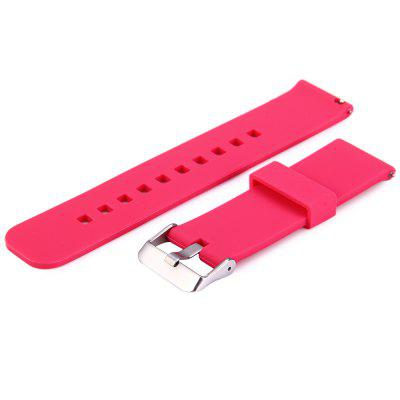 Silicone Watch Band Strap for Cookoo2 Watch Pebble Time LG MOTO360 etc.