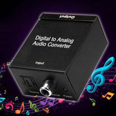 HDC7 Coaxial Toslink Digital Signal to Analog RCA Audio Converter  -  100  -  240V
