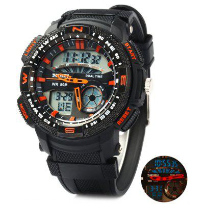 Skmei 1109 Double Movt Sports Digital Watch